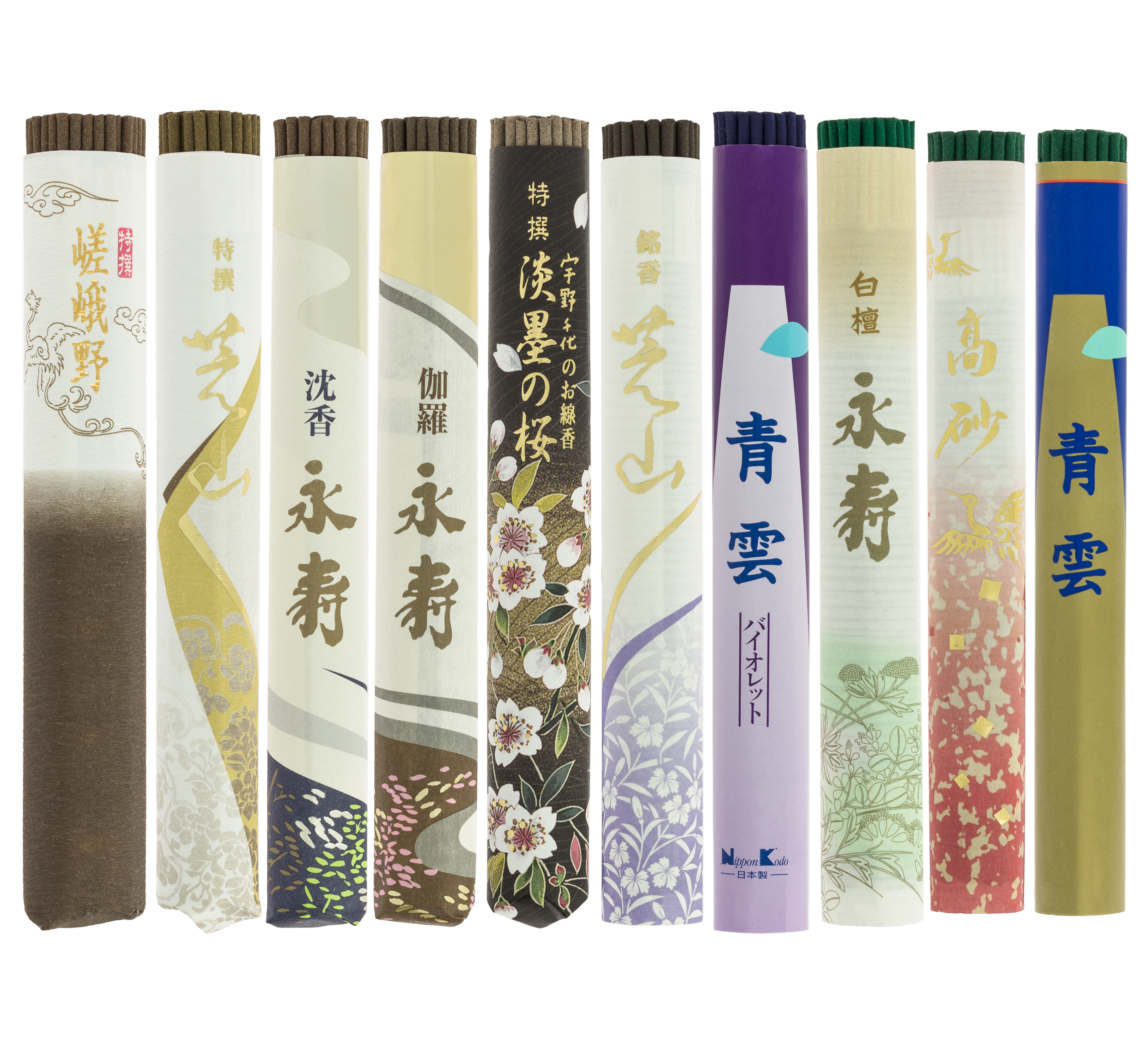 Incense Roll pack 10 units