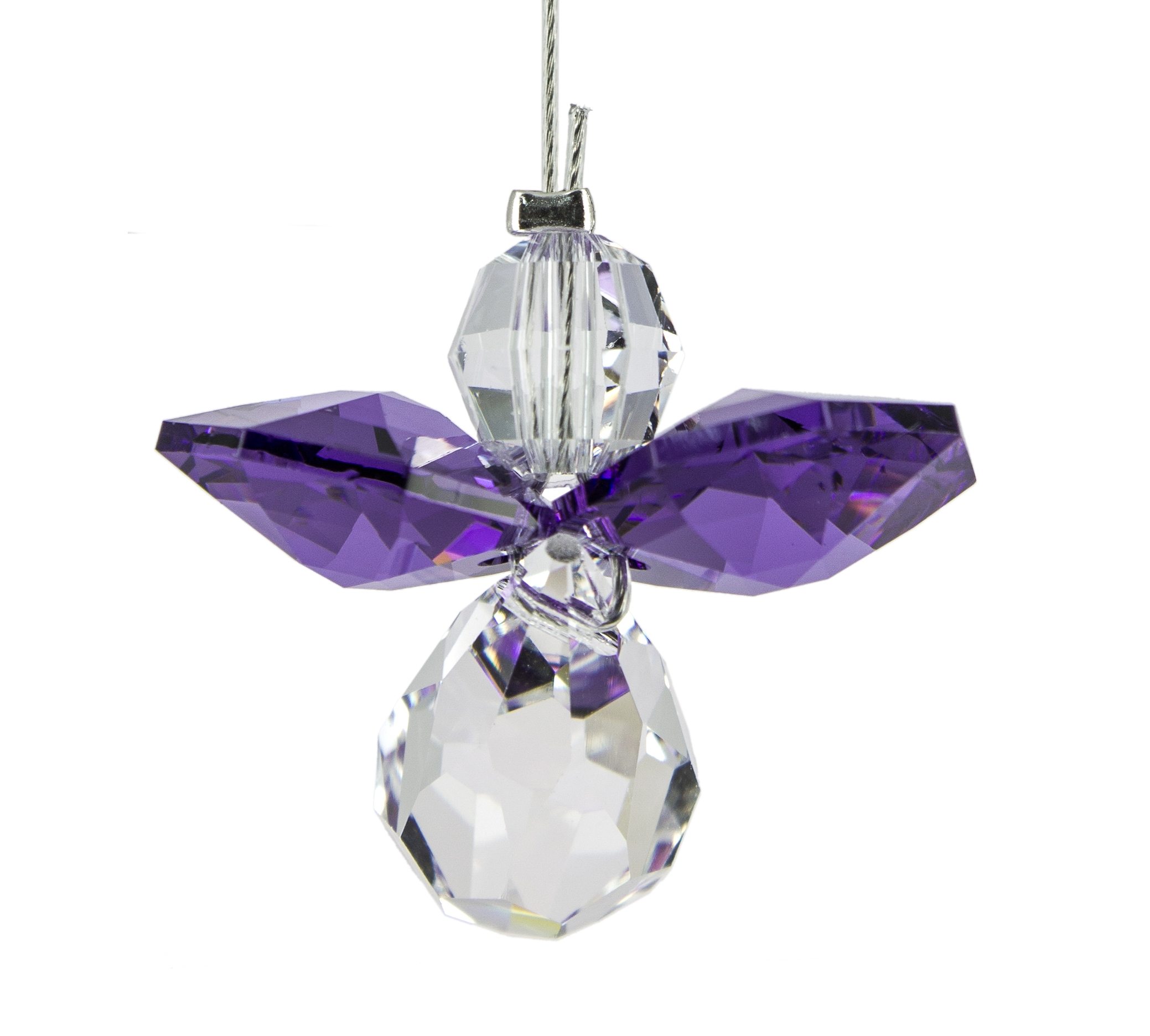 Crystal Guardian Angel - Amethyst - February