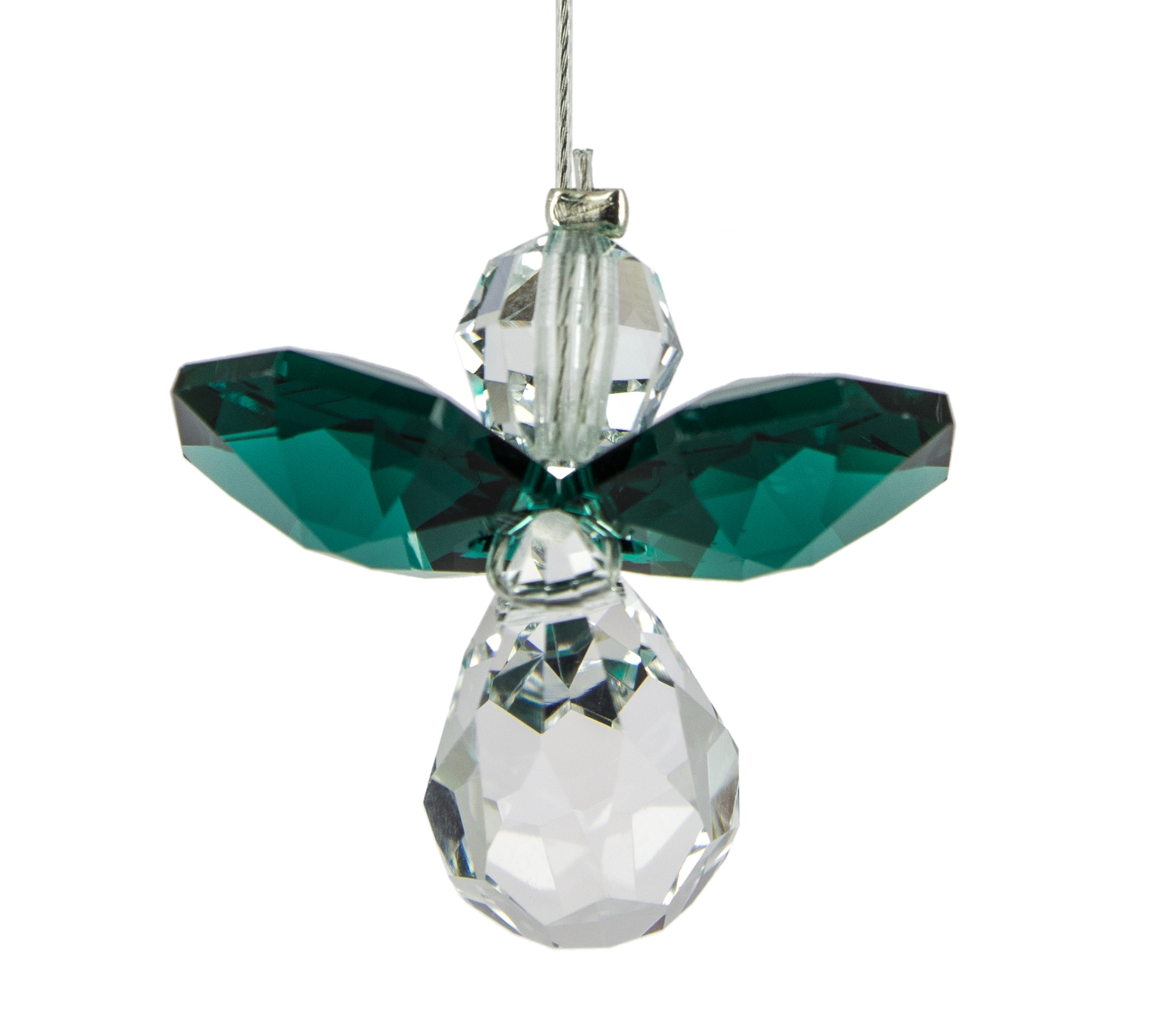 Crystal Guardian Angel - Emerald - May