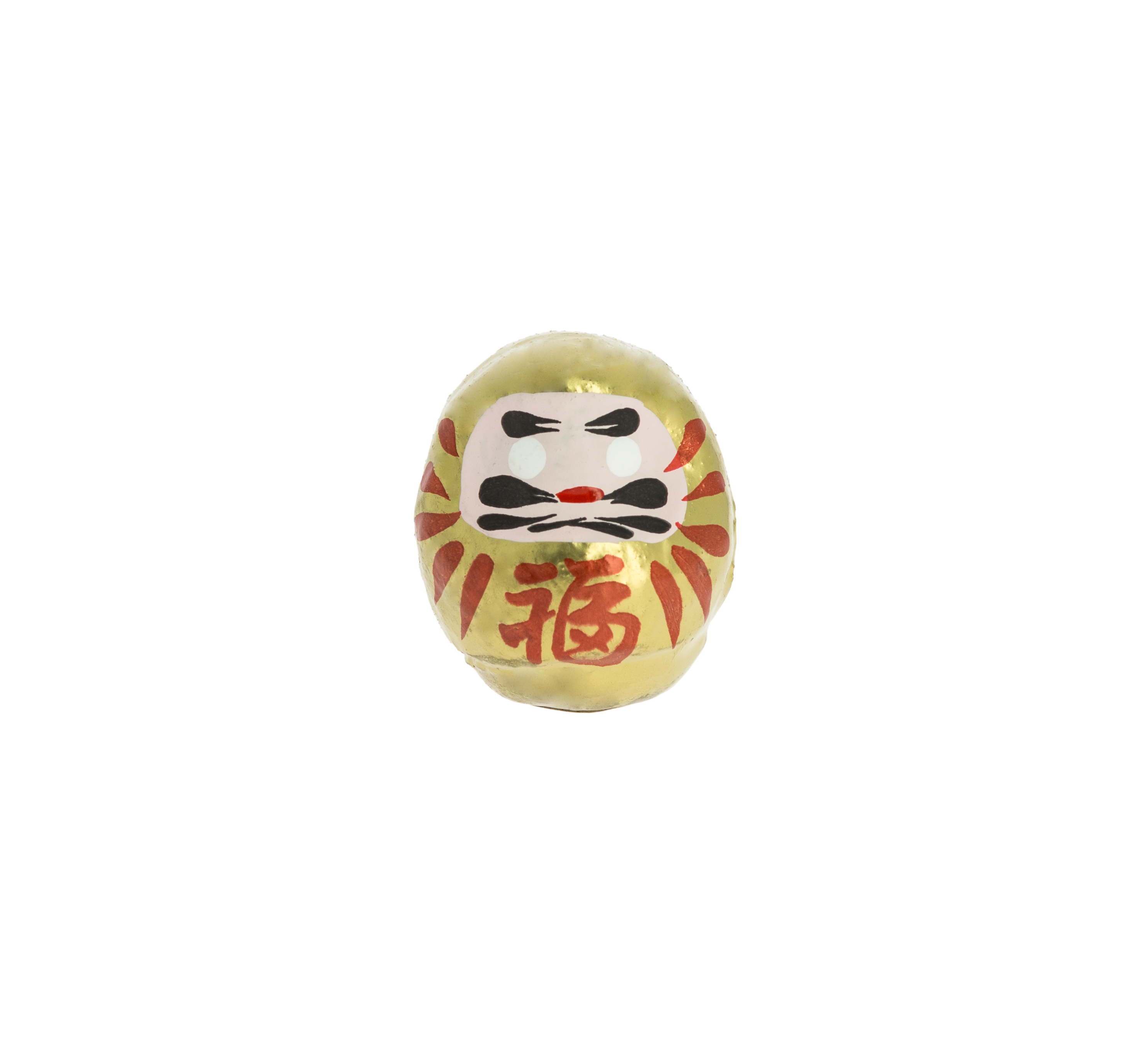 Small Gold Daruma - Wealth