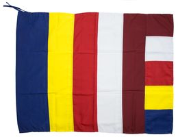Medium Universal Buddhist Flag