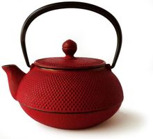 Red Arare Teapot 600 ml
